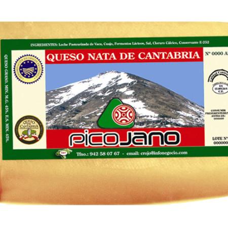 Queso de Nata Pico Jano 1 kg.