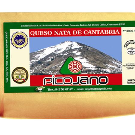 Queso de Nata Pico Jano 12kg.