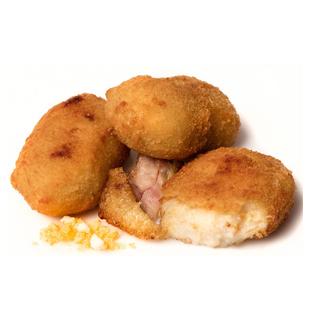 Croqueta de Pollo de campo y Huevo cocido