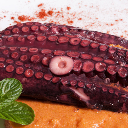 Medio Pulpo Gallego 235g.