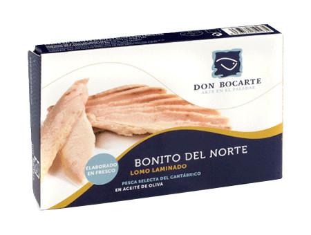 Laminado de Bonito del Norte Don Bocarte 160g.