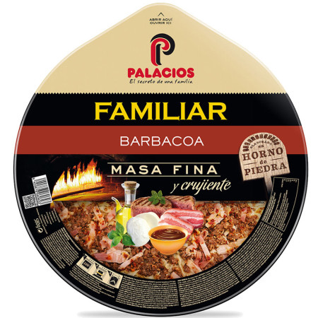 Pizza Familiar Barbacoa